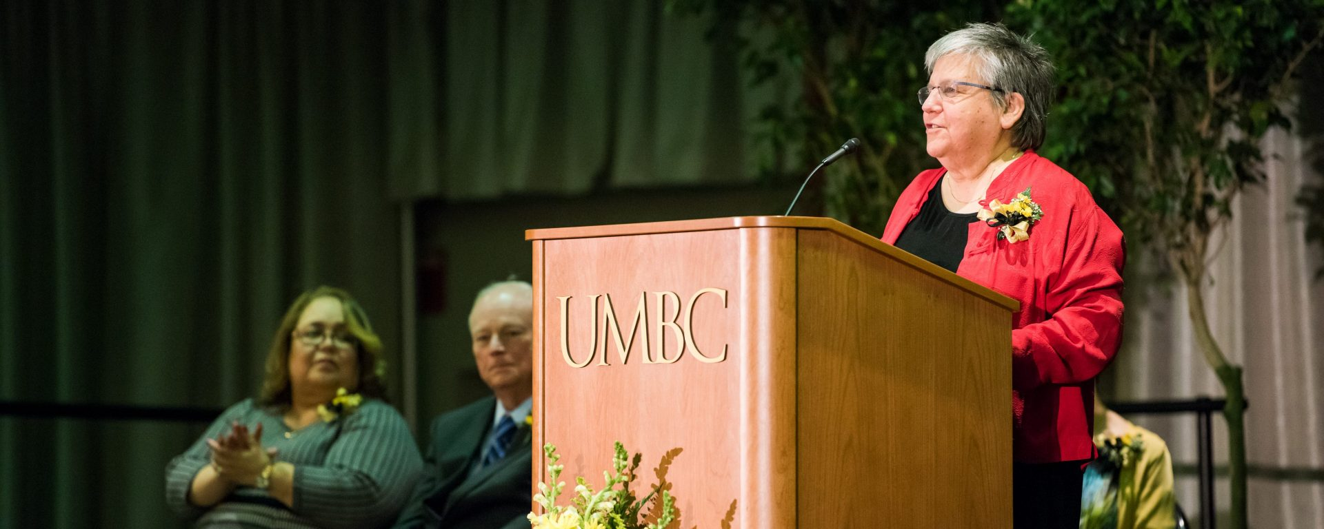 UMBC has named Phyllis Robinson, professor of biological sciences, the Robert and Jane Meyerhoff Chair of Biological Sciences.